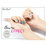 CHROME EFFECT SILVER NEONAIL