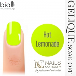 LAKIER HYBRYDOWY GELIQUE SOAK-OFF HOT LEMONADE - 6 ml