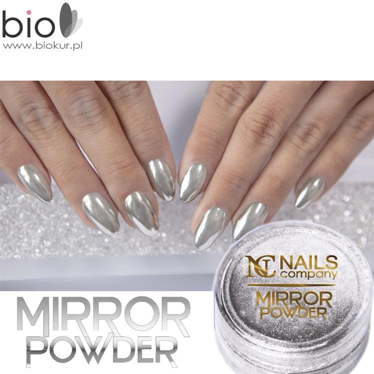 Efekt Lustra Mirror Effect Nails Company Hit Biokurpl
