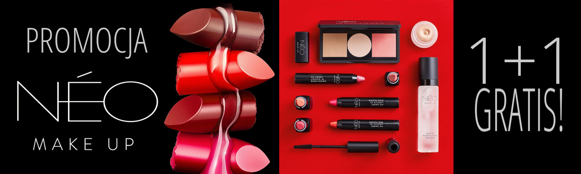 PROMOCJA NEO MAKE UP 1+1 GRATIS!